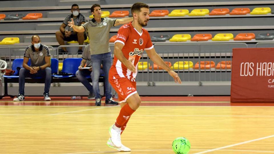 Andresito, jugador del Jimbee Cartagena.