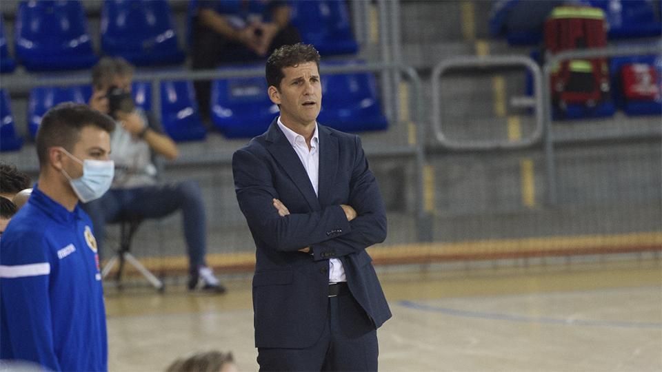 Duda, entrenador del Jimbee Cartagena.
