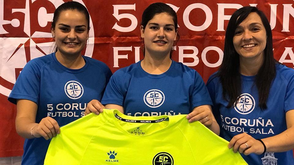Continúa el crecimiento de la estructura femenina de la Academia Red Blue 5 Coruña