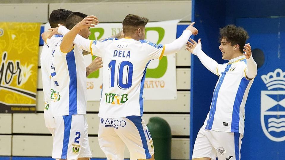 Triunfo del CD Leganés, empate del Full Energía Zaragoza y derrota de JERUBEX Santiago Futsal