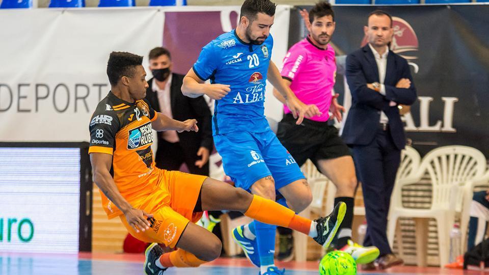 Viña Albali Valdepeñas sucumbe a domicilio contra Burela FS (3-2)