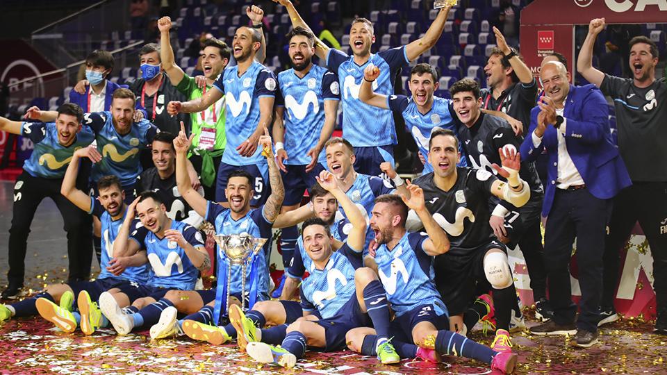 Inter Movistar gana su undécima copa de España tras golear al Barça
