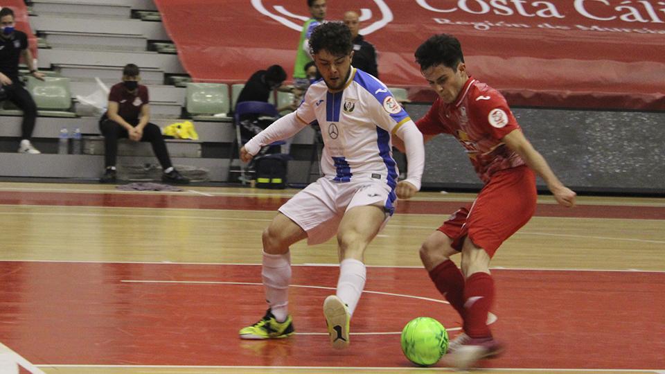 Trunfos del CD Leganés, Full Energía Zaragoza y empate entre de JERUBEX Santiago Futsal