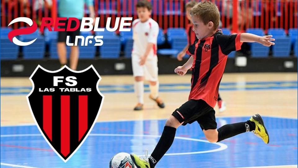 La Escuela Fútbol Sports Las Tablas se suma al proyecto de Academias RED BLUE