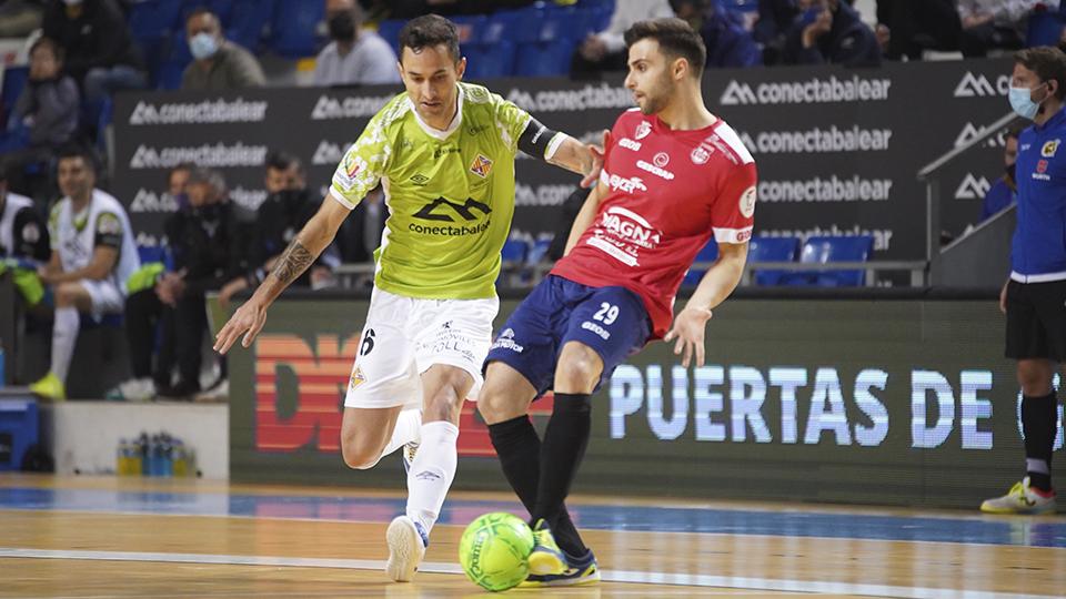 Agónico triunfo de Palma Futsal frente a Osasuna Magna Xota en un auténtico partidazo (5-4)