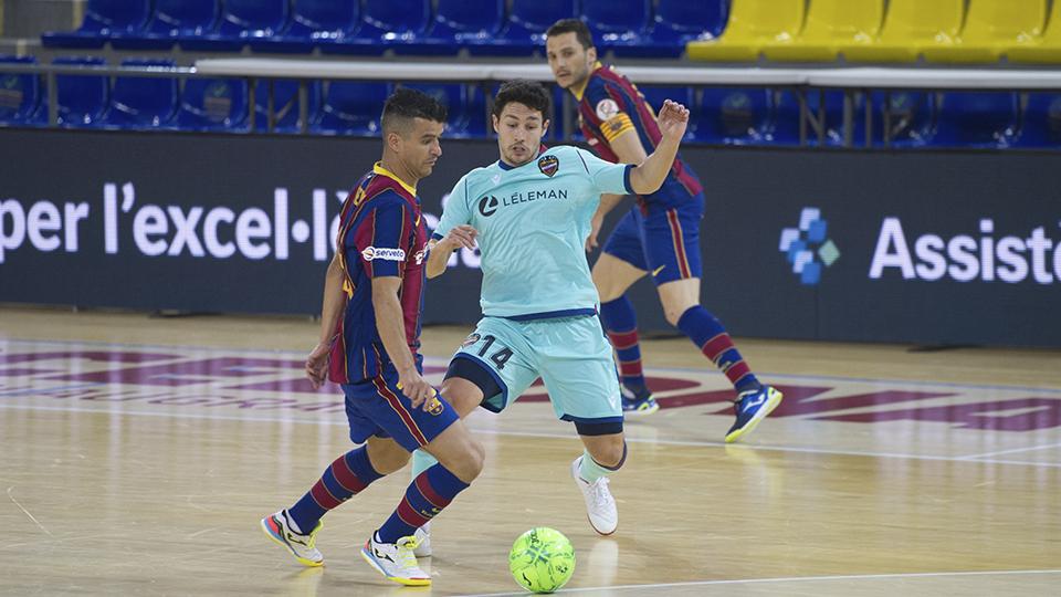 Trabajada victoria del Barça en la visita del Levante UD (6-3)