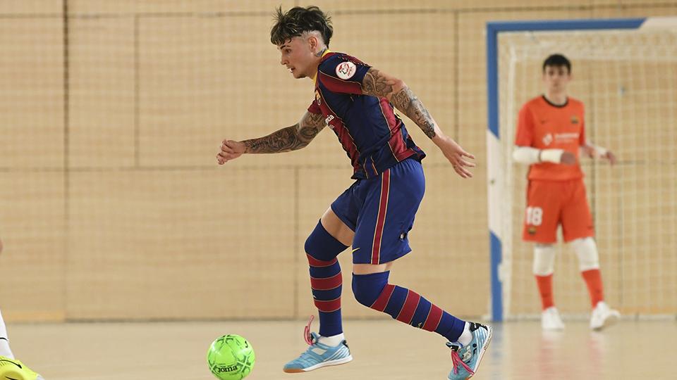 El FS Talavera rescata un punto in extremis ante el Barça B (4-4)