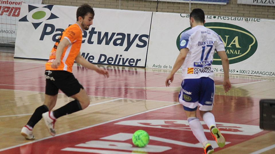 Triunfo de Ribera Navarra FS sobre Fútbol Emotion Zaragoza (5-2)