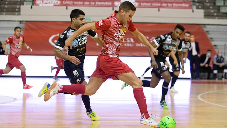 Fernando, jugador de ElPozo Murcia Costa Cálida.