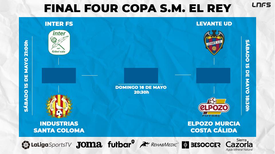 ¡Este sábado se disputan las Semifinales de la Copa del Rey!