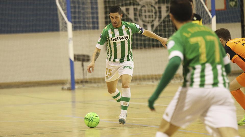 Rubén Cornejo, jugador del Real Betis Futsal.