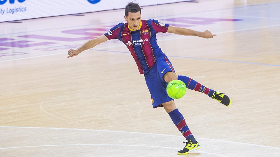 Jaén FS y Barça firman tablas en su duelo aplazado (2-2)