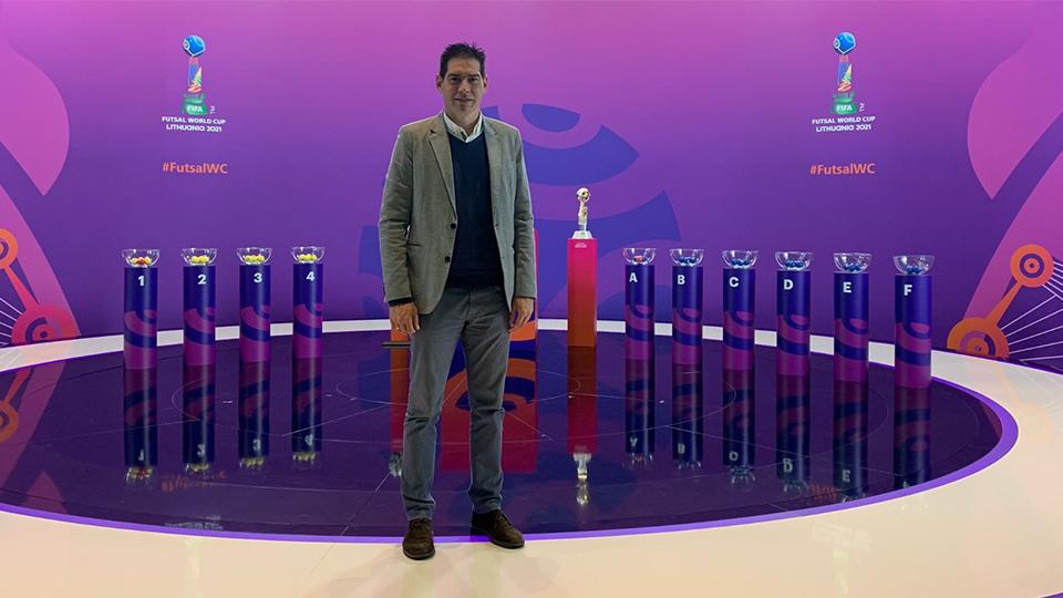 Kike Boned, la imagen del Fútbol Sala español en FIFA
