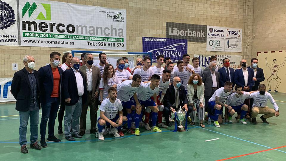 Cinco temporadas, cuatro Play Off y un Ascenso histórico de Manzanares FS Quesos El Hidalgo