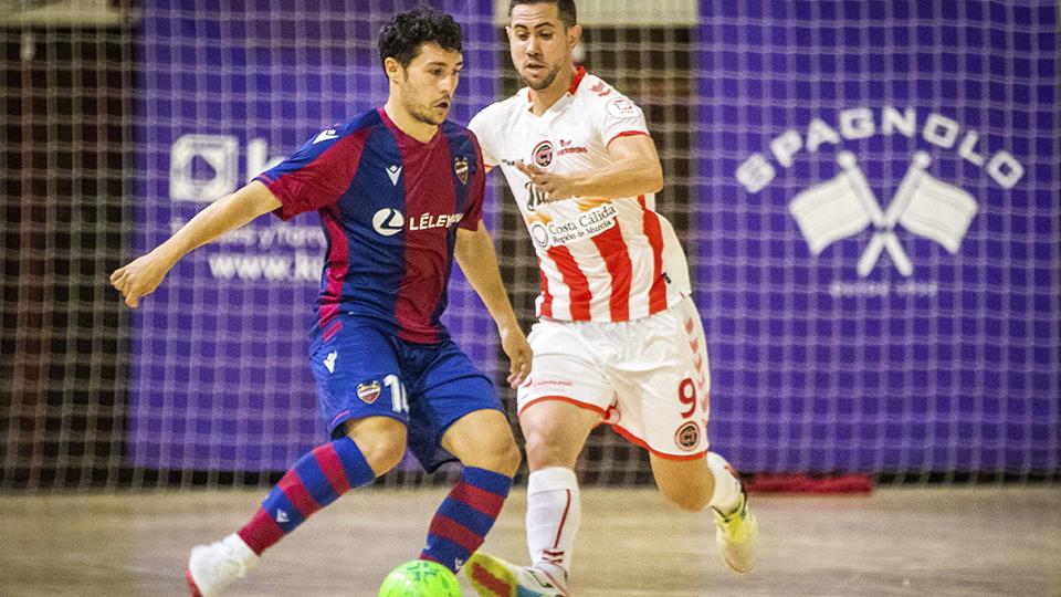 Rafa Usín convierte en semifinalista al Levante UD FS al vencer por la mínima a Jimbee Cartagena (2-1)