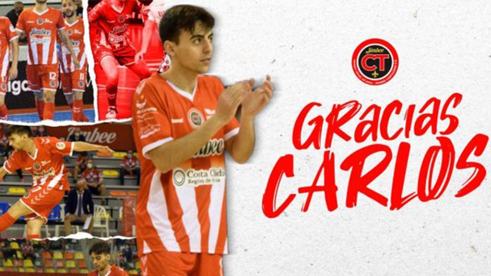 Carlos Bartolomé no continuará la próxima temporada en Jimbee Cartagena