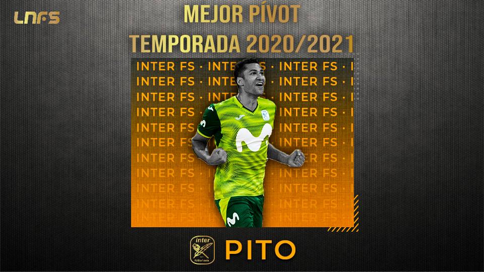 Pito, 'Mejor Pívot' de la Temporada 20/21