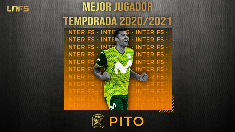 Pito, 'Mejor Jugador' de la Temporada 20/21