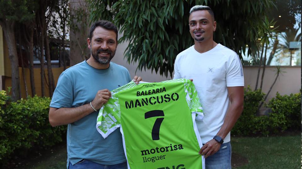 """Mancuso: """"Tengo el sueño de ganar algo con el Palma Futsal"""""""