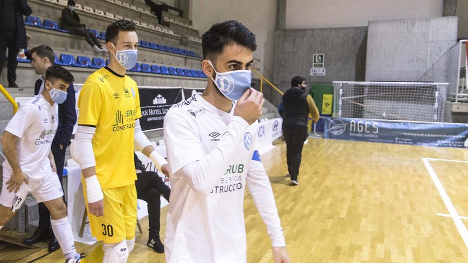 Dani Blanco, jugador de Santiago Futsal.