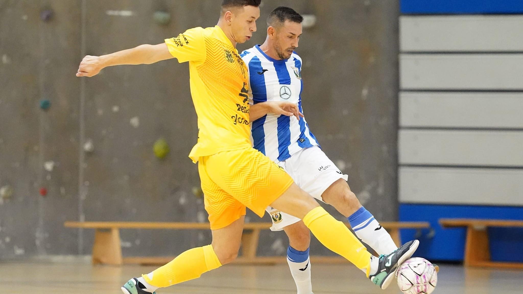 VÍDEO | El CD Leganés sufre la derrota en un partido ajustado contra Peñíscola FS (1-2)