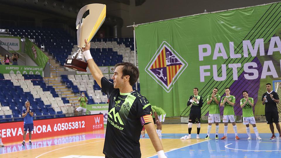 VÍDEO | Palma Futsal gana el I Memorial Miquel Jaume tras imponerse en la Final al Levante UD FS (5-0)