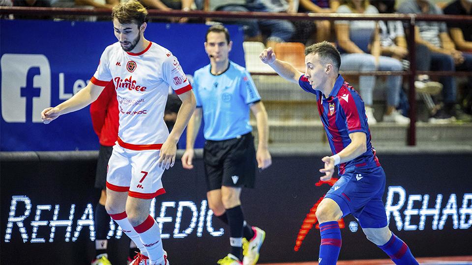 Jimbee Cartagena rescata un punto in extremis en la pista del Levante UD FS (2-2)