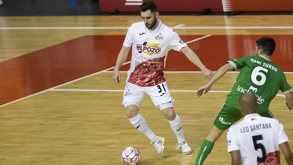 ElPozo Murcia Costa Cálida firma tablas con Xota FS en su debut en casa (3-3)
