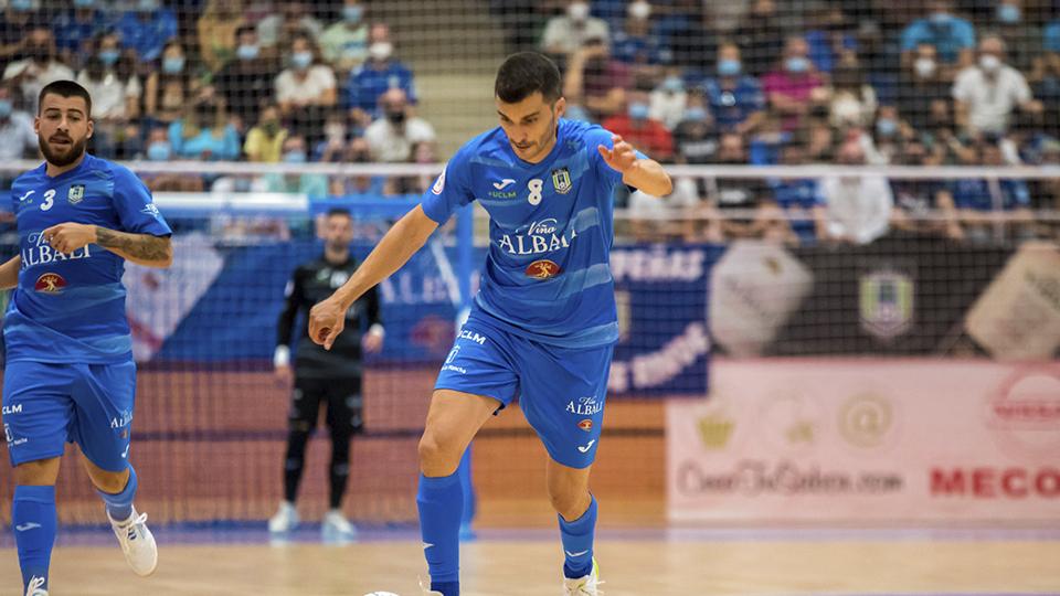 Lolo, jugador del Viña Albali Valdepeñas. (Foto: ACP-FSV)