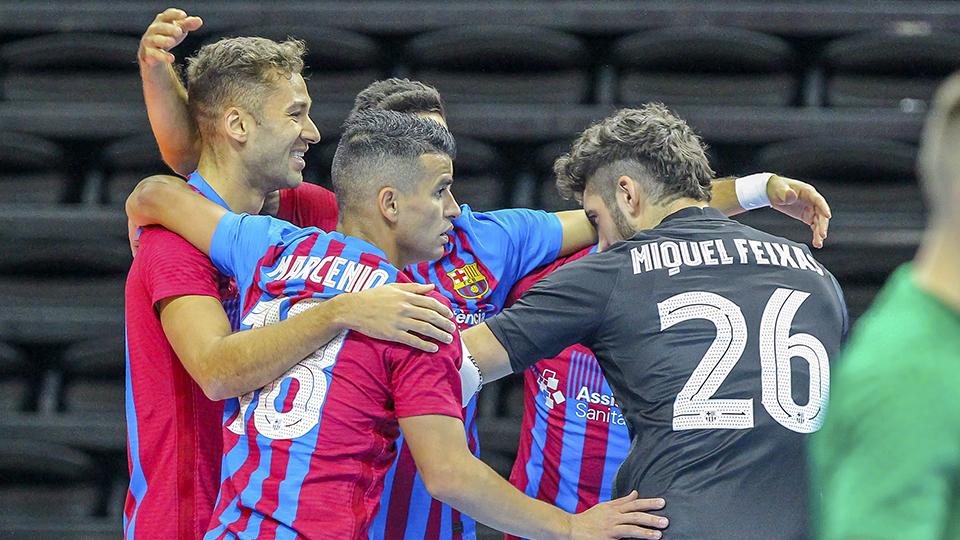 El Barça arranca su andadura en la Champions con victoria sobre el Viten Orsha (5-1)