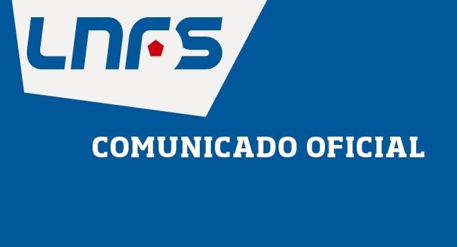 Comunicado Oficial LNFS.