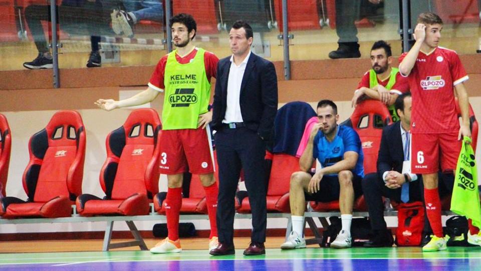 Giustozzi, entrenador de ElPozo Murcia