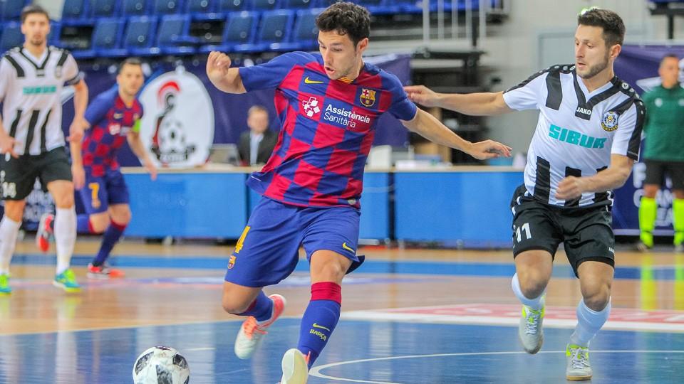 Roger del Barça y Krykun del Tyumen