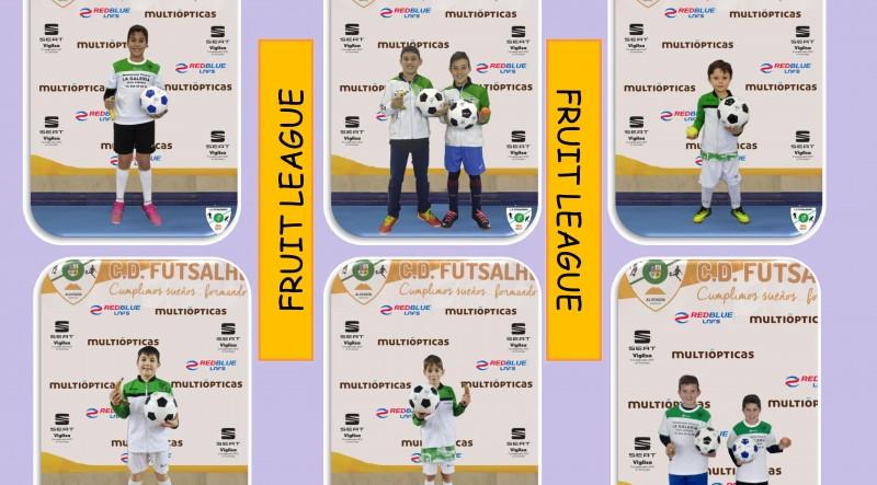 La Academia Red Blue FutsalHendin Granda lleva a cabo la campaña 'Fruit League: Comer bien, sentirse mejor'
