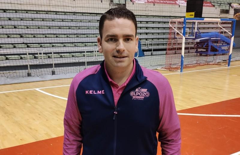 Guillermo Martínez, entrenador de ElPozo Ciudad de Murcia.