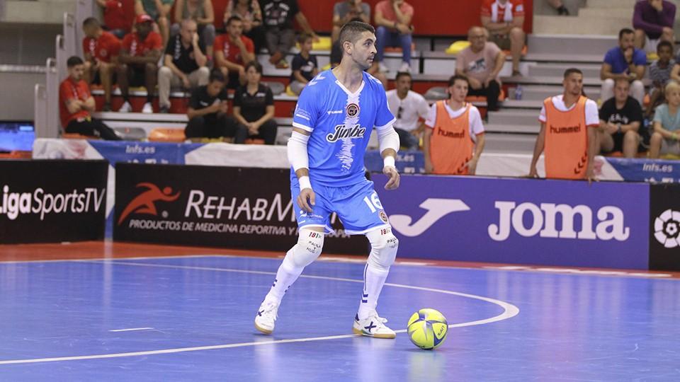 Raúl Jerez, portero del Jimbee Cartagena.