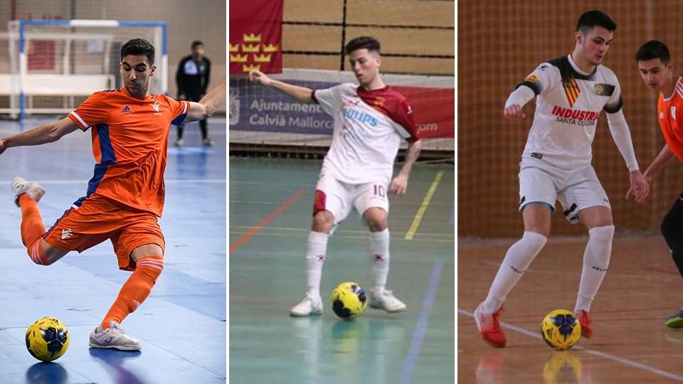 Nacho Gómez, David Iniesta, y Víctor Cecilia, nuevos fichajes de ElPozo Ciudad de Murcia.