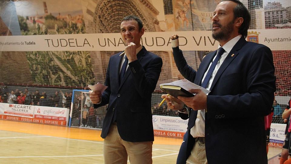 Álvaro Cordón Díez 'Cone', segundo entrenador del Aspil-Jumpers Ribera Navarra.