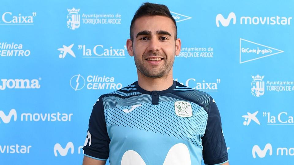 Cecilio, nuevo jugador de Movistar Inter.