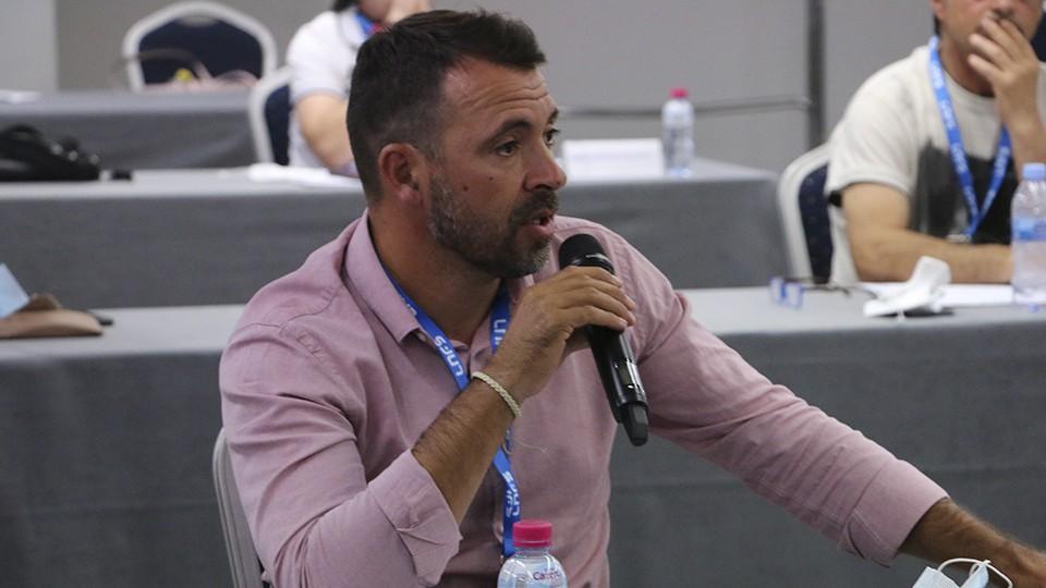 """José Tirado: """"Ha sido un año muy difícil y triste, pero estoy orgulloso de todo lo que hemos sido capaces de hacer"""""""