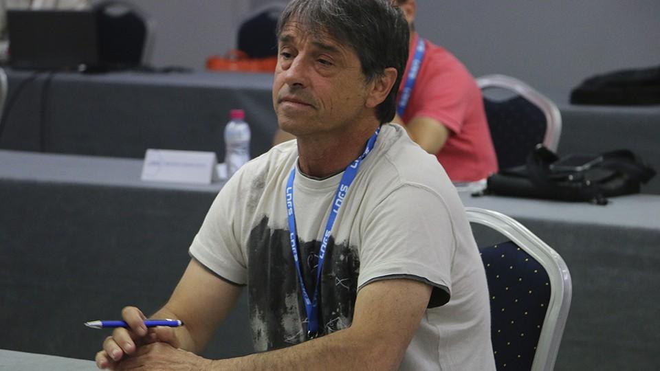 Tatono Arregui, presidente del Osasuna Magna Xota.