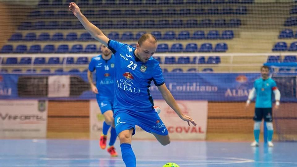Nano, jugador del Viña Albali Valdepeñas. (Foto: ACP-FSV)