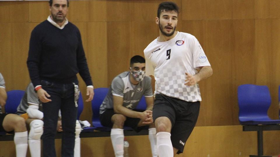 Miguel Rubio, jugador de Rivas Futsal.
