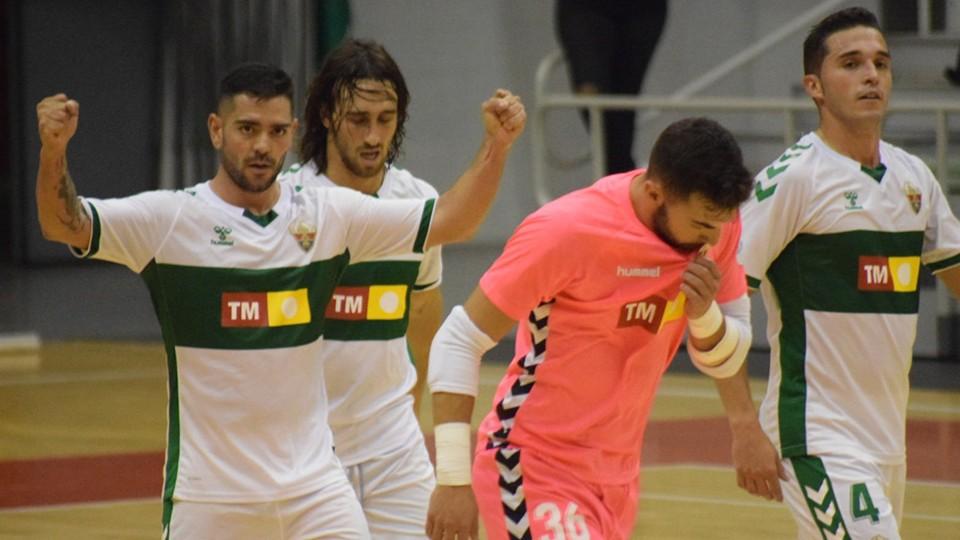 VÍDEO | Victoria crucial del Elche ante JERUBEX Santiago Futsal (6-2)