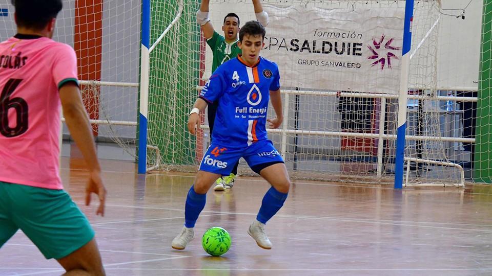 Marcos Forga, jugador del Full Energía Zaragoza. (Foto: Andrea Royo López)