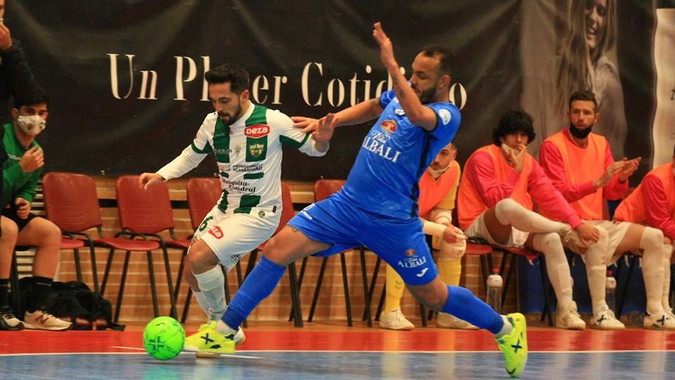Córdoba Patrimonio y Viña Albali Valdepeñas juegan este miércoles su partido aplazado