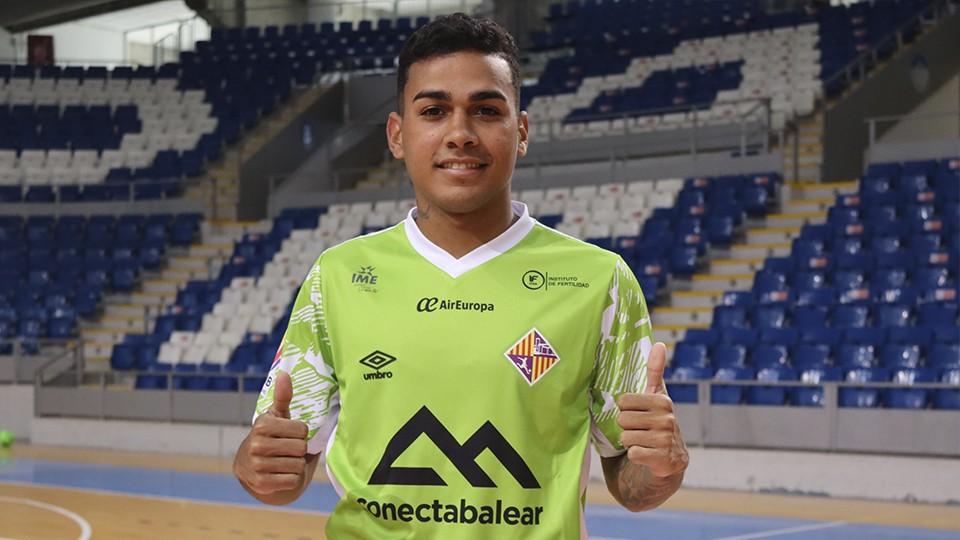 Cléber, nuevo jugador de Palma Futsal