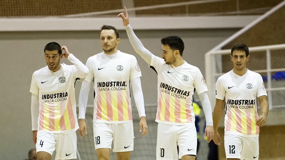 Industrias Santa Coloma no pasa del empate frente a Jaén FS (1-1)