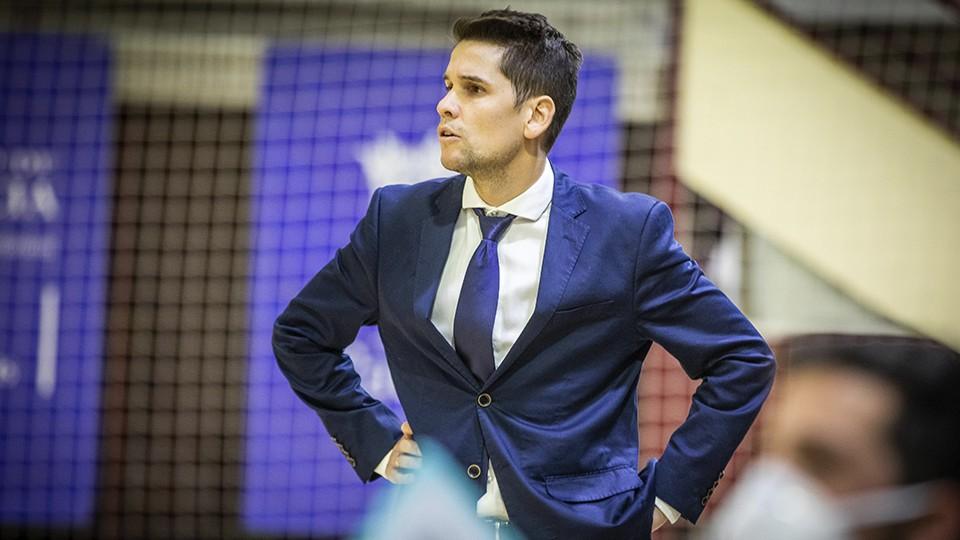 Diego Ríos, entrenador del Levante UD FS
