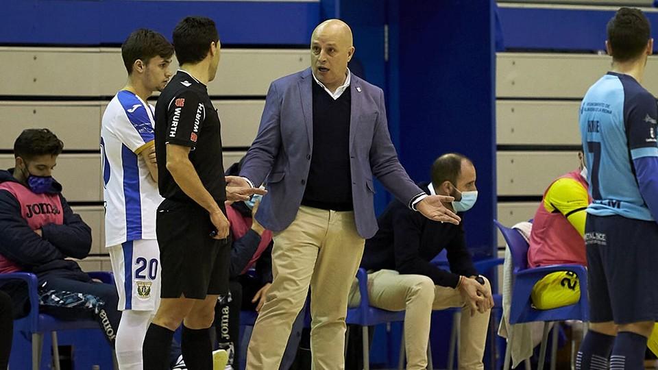 David Zamorano, entrenador del CD Leganés.